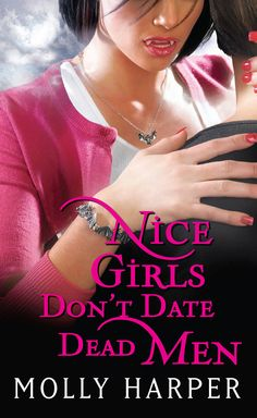 The 2nd book in the Nice Girls series.  With her best friend Zeb's Titanic-themed wedding looming ahead, new vampire Jane Jameson struggles to develop her budding relationship with her enigmatic sire, Gabriel. It seems unfair that she's expected to master undead dating while dealing with a groom heading for a nuptial nervous breakdown, his hostile werewolf in-laws, and the ugliest bridesmaid dress in the history of marriage.    Meanwhile, the passing of Jane's future step-grandpa puts…
