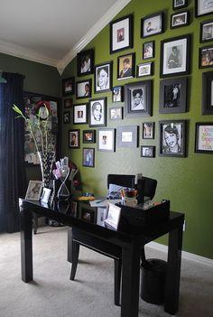 office colour scheme black home office color scheme blackwhitegreen 94 best home paint color images on pinterest decor house
