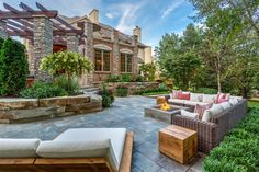 You can decorate your porch with elements from your home design. Add things such as chairs, sofas, coffee tables, or even fire pits to make it more comfortable. Here are 16 great ideas you can try at home.