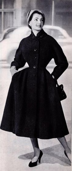 1950s Image from Harrods Fashion Catalogues. S)