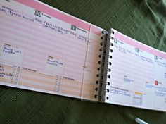 How I plan my workouts and blog schedule!