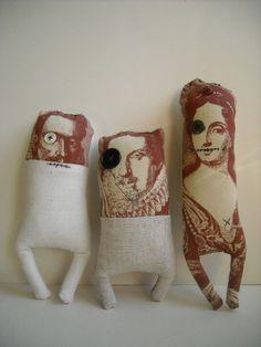 Villain rag stump dolls  - Junker Jane