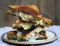 Tuna melt sandwich Tuna Melt Sandwich, Tuna Melts, Food Photography, Sandwiches, Toast, Gluten, Lunch, Dinner, Vegans