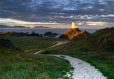 llanddwyn island, wales, home of st. dwynwen, welsh princess/saint of love