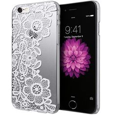 iPhone 6 Case, Cimo [Floral] Apple iPhone 6 Case Clear Design Paisley Flower Pattern Premium ULTRA SLIM Hard Cover for Apple iPhone 6 (4.7) - White Cimo http://www.amazon.com/dp/B00R0I4QS2/ref=cm_sw_r_pi_dp_Tihevb0TYZY26