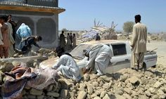 24 Sept. Pakistan earthquake: hundreds feared dead in remote Baluchistan province