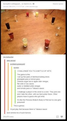 Gross Drink Roulette