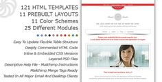 Click the link below for a LIVE PREVIEW AT THEMEFOREST , you can see all of the available Prebuilt Layouts And Modules with Color Schemes..:    themeforest.net/item/eternal-emailer-html-email-template/...    You have many text fields for Slogans, News, H mg