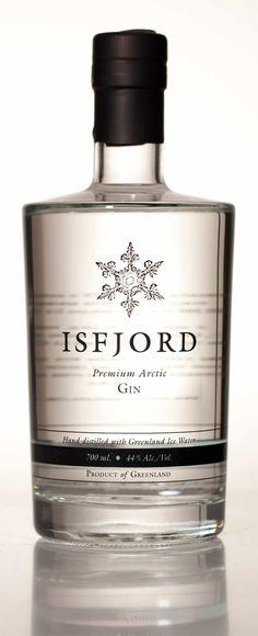 Isfjord Premium Arctic Gin and Vodka