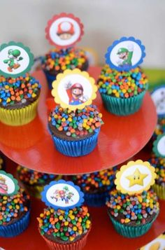 Super Mario Brothers Birthday Party Ideas | Photo 5 of 6 | Catch My Party