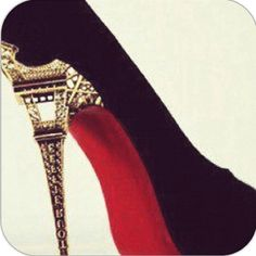 Effiel tower heels...I would NEVER wear them but they are cute!