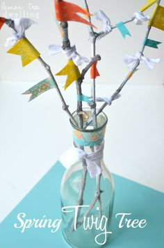 Spring Twig Tree {lemontreedwelling}