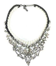 Ellaine Statement Stacked Necklace