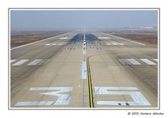 Neat picture of runway.