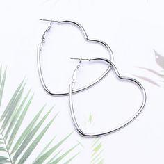 Gold Plated Earrings, Silver Hoop Earrings, Style Kawaii, Earring Hole, Hole Punch, Silver Hoops, Designer Earrings, Mens Fashion, Bracelets