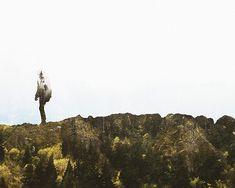 Double exposures in Photoshop - Man Vs. Mountain