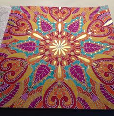 Colouring For Mindfulness Bollywood Page 2
