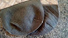 패치워크 토드백 과정샷도 함께 올려요^^ 0.7cm로 재단한 8조각을 패치워크 하고 가방 몸통이 될 천위에 퀼...