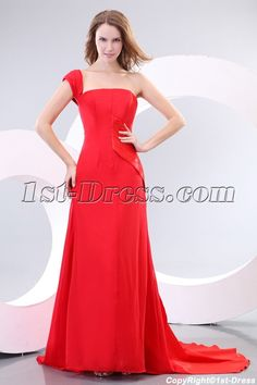 1st-dress.com Offers High Quality Elegant A-line One Shoulder Red Carpet Celebrity Dresses 2012,Priced At Only US$168.00 (Free Shipping)