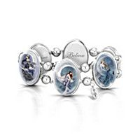 Moon Dreamer Art Stretch bracelet
