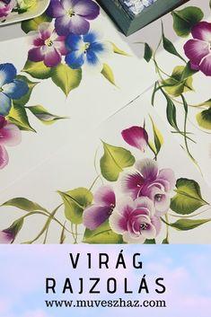 A Virág rajzolás minden időben kedves időtöltés, rajzolj és fess virágokat! Minden, Plants, Plant, Planets