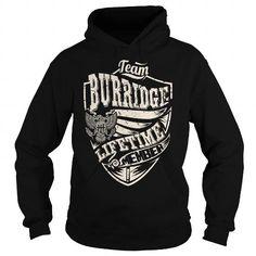 I Love Last Name, Surname Tshirts - Team BURRIDGE Lifetime Member Eagle T shirts
