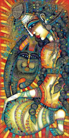 The Gipsy Painting by Albena - The Gipsy Fine Art Prints and Posters for Sale