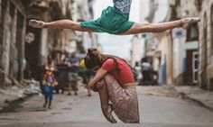 Breathtaking Photos Capture Cuba's Legendary Ballerinas Dancing In The Streets