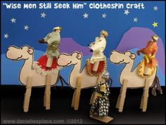 Kids Craft: The Three Wise Men Craft | HOOKED ON THE BOOK