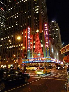 Radio City Music Hall to see the rockettes christmas show