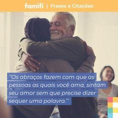 Abrace muito as pessoas que você ama!  #família #lar #pais #mãe #pais #amor #união #filhos #laçoeterno #superação #apoiofamiliar #amoaminhafamília #amomeuspais #amomeusirmãos