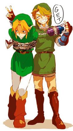 Grrrrr Link you have 2 seconds to get me out of this. Or I will tell Zelda BOTH Zelda's