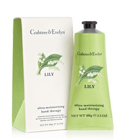 61e93a8d16e8 crabtree and evelyn lily - Google Search Foot Cream, Hand Cream, Creme Pour  Les