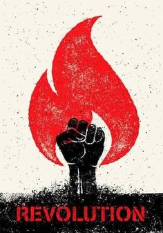 Revolution Hand Inside Distressed Flame On Grunge Rustic Background. Titanic Tattoo, Graffiti Images, Super Pictures, Protest Posters, Propaganda Art, Rustic Background, Typographic Poster, Pixel Art, Grunge