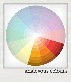 Colour theory: analogous