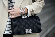 #chanel boy bag