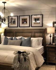 27 Beautiful For Farmhouse Bedroom Decor Ideas And Design. If you are looking for For Farmhouse Bedroom Decor Ideas And Design, You come to the right place. Below are the For Farmhouse Bedroom Decor . Farmhouse Master Bedroom, Master Bedroom Makeover, Cozy Bedroom, Dream Bedroom, Modern Bedroom, Contemporary Bedroom, Bedroom Rustic, Cozy Master Bedroom Ideas, King Bedroom