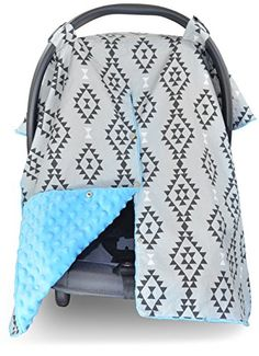 The Kid's N' Such Car Seat #Canopy is the ideal companion for any infant car #seat. Each Cover is fashionably designed and made to provide comfort, convenience, ...