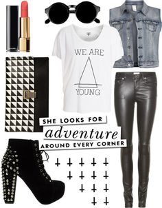 """Rock glam"" by dada-ra on Polyvore"