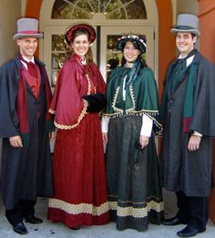 """Costumes Based on Dickens' """"A Christmas Carol"""""""