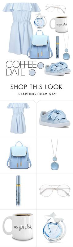 """""""Coffee date"""" by stylistlithuania ❤ liked on Polyvore featuring Miss Selfridge, Ash, Effy Jewelry, Estée Lauder, Thierry Mugler, Skagen and CoffeeDate"""