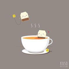 Tea Time by kusodesign.deviantart.com on @deviantART
