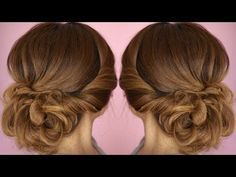Easy Summer Twist Updo Hair Tutorial - YouTube