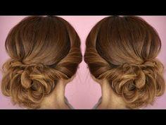 Easy Summer Twist Updo Hair Tutorial - YouTube