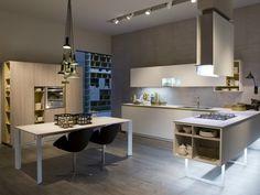 Cucina con penisola - Una soluzione da copiare per chi desidera una cucina moderna ed elegante