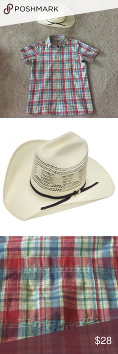 "NWOT cowboy hat The NWOT Bailey Bandera Bangora Collection Desert Breeze Straw Cowboy Hat is ivory. The band is black 2 ply leather w/ the Bailey silver spur concho insignia. It's handcrafted from durable Bangora straw & features a unique ultra-vented crown w/ a revolutionary Dri-Lex® sweatband for fit & comfort. The brim is 4"" & the Stockman crown is 4.25"". Smoke free house. Accessories Hats"