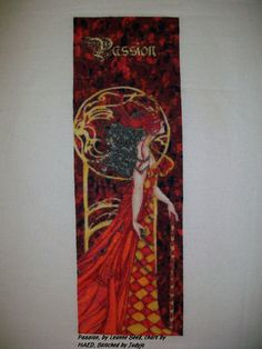 Passion, by Leanne Seed, charted by Heaven and Earth Designs