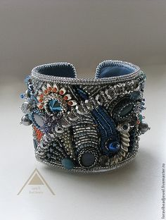 "Браслет ""Silver infiniti"". Handmade."