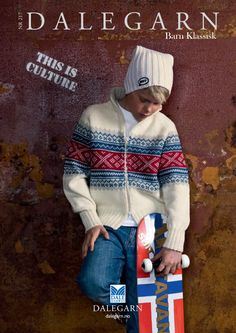 #DaleGarn Free Download Patterns DG217 Barn Klassisk Knits for Tweens Kids #Retro