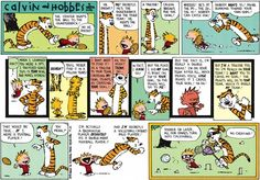 Are you ready for some #football?! We know one 6-year-old and his pet tiger who are always down to throw the pigskin. We're kicking off today's #FootballSunday with #CalvinAndHobbes! ... Read more @ http://blogs.gocomics.com/2015/11/football-sunday-with-calvin-and-hobbes.html?utm_source=pinterest&utm_medium=socialmarketing&utm_content=ch30-footballsundaywithcalvinandhobbes-blog&utm_campaign=social | #GoComics #comics #webcomic